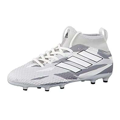 edb3e1d9808c Ace 17.3 Primemesh Kids FG Football Boots - Clear Grey/White/Core Black -