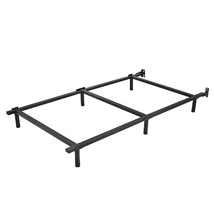 Amazon.com: HOMUS 7 inch High Heavy Duty Steel Platform Bed Frame ...