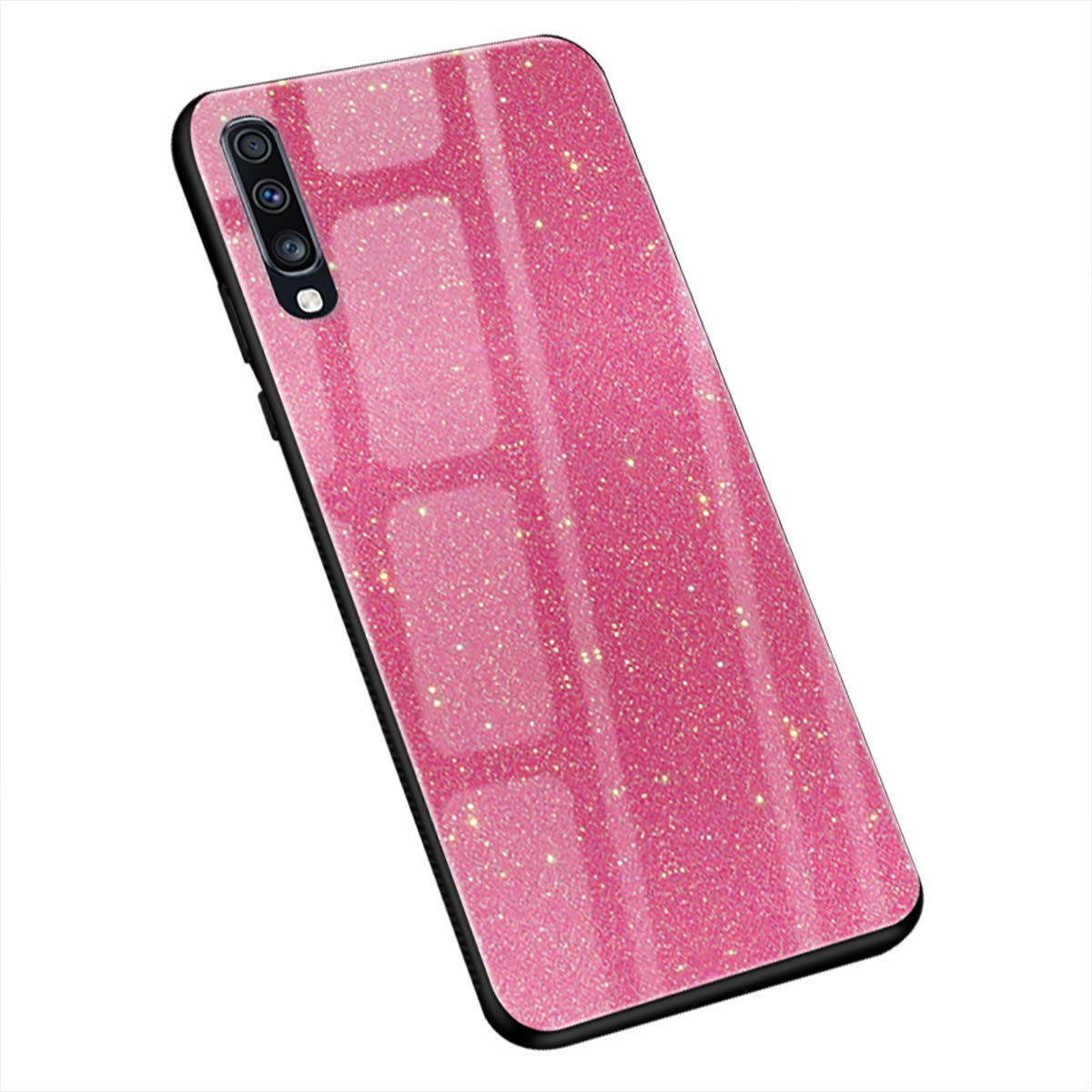 Amazon.com: Qissy Case Compatible with Samsung Galaxy A50 ...