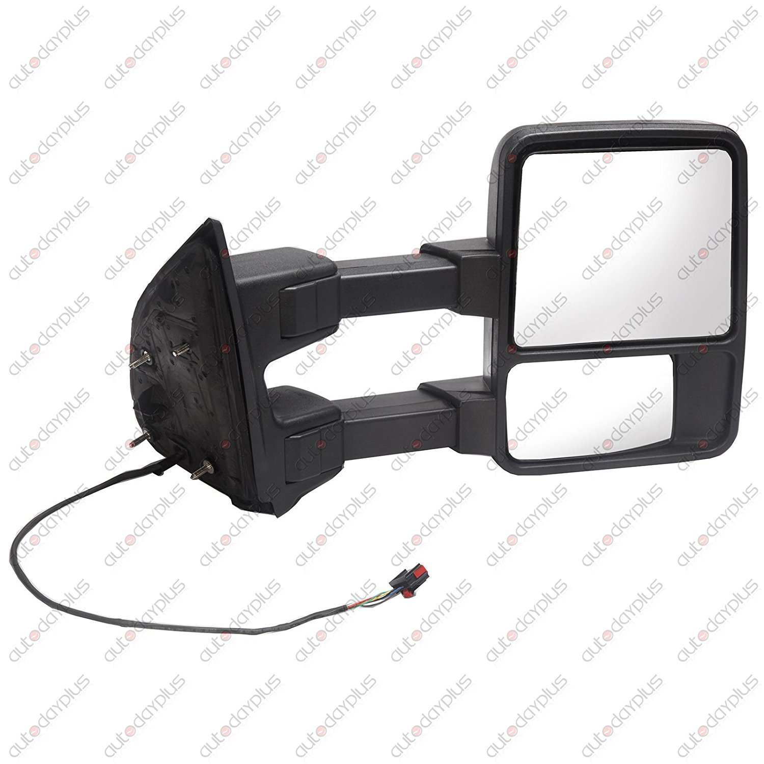 SCITOO Power Heated Passenger Side Mirror Smoke Clear Turn Signal Lights Right Towing Mirror 2008-2016 Ford F250 F350 F450 F550 Super Duty Scitoo Towing Mirrors