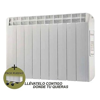 farho Radiador Eléctrico + Juego de Ruedas Xana Plus (XP) • 990 W •