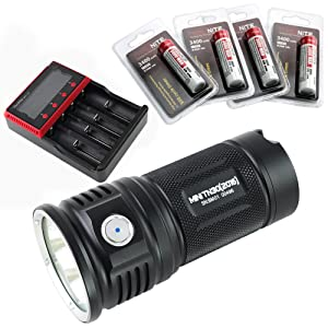 ThruNite TN36 UT 7300 Lumen/Mini TN30 3660 Lumen LED Flashlight