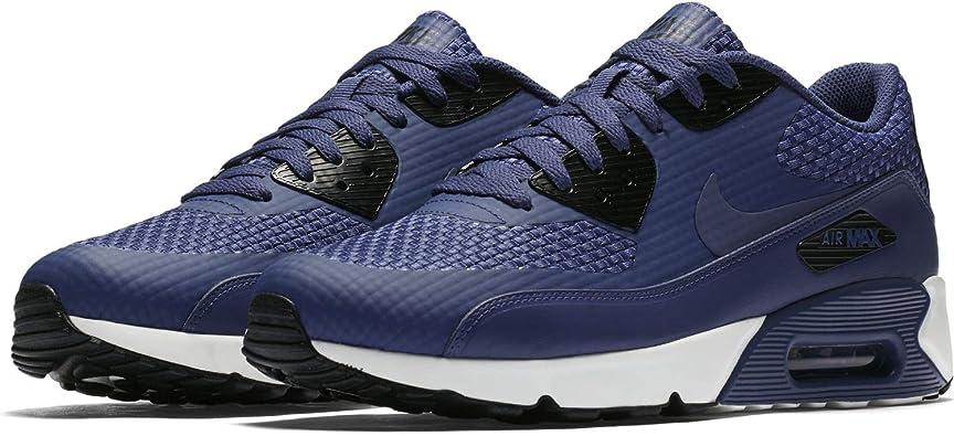 policía Oponerse a Partido  Nike Air Max 90 Ultra 2.0 SE Special Edition 876005 403 - Zapatillas de  deporte para hombre, color azul y blanco, color Negro, talla 45.5 EU:  Amazon.es: Zapatos y complementos