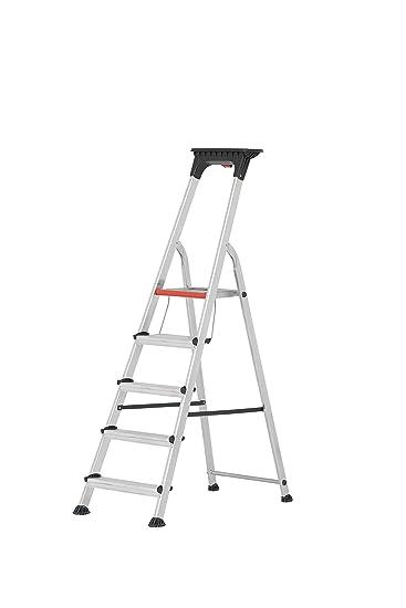 HYMER ALU-PRO 7102606 - Escalera de tijera: Amazon.es: Bricolaje y herramientas