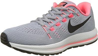 Nike W Air Zoom Vomero 12 (N), Zapatillas de Trail Running para Mujer, Gris (Wolf Grey/Black/Pure Platinum/Hot Punch 002), 40 EU: Amazon.es: Zapatos y complementos
