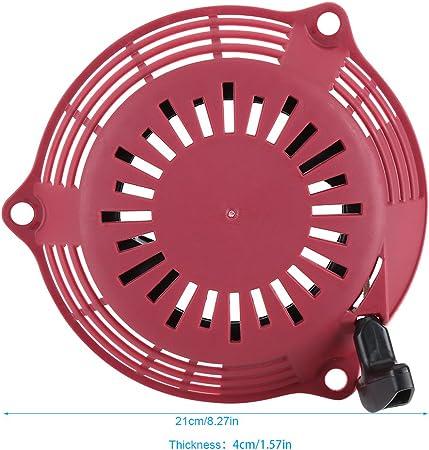 Gorgeri Moteur Moteur Tirer D/émarrer Recoil Rewind Kit pour GCV135 GCV160 EN2000