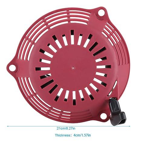 Extractor de cortacésped Arrancador Extractor Motor Pull Start Kit ...