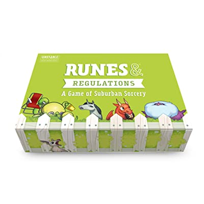 Runes & Regulations Card Game - from The Creators of Unstable Unicorns - A Strategic Card Game & Party Game for Adults & Teens: Toys & Games