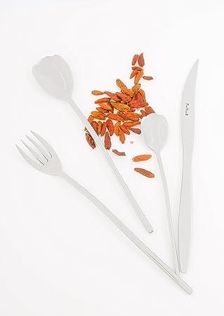 Pinti EspañA A04407091 - Cuberteria mesa tulipan inox pintinox a04407091 24 pz: Amazon.es: Bricolaje y herramientas