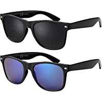 La Optica Original UV400 CAT 3 Unisex Sonnenbrille - Farben, Einzel-/Doppelpacks, Verspiegelt