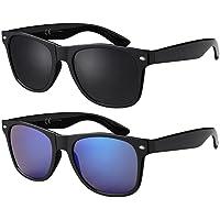 La Optica Original UV400 CAT 3 CE Unisex Sonnenbrille - Farben, Einzel-/Doppelpacks, Verspiegelt
