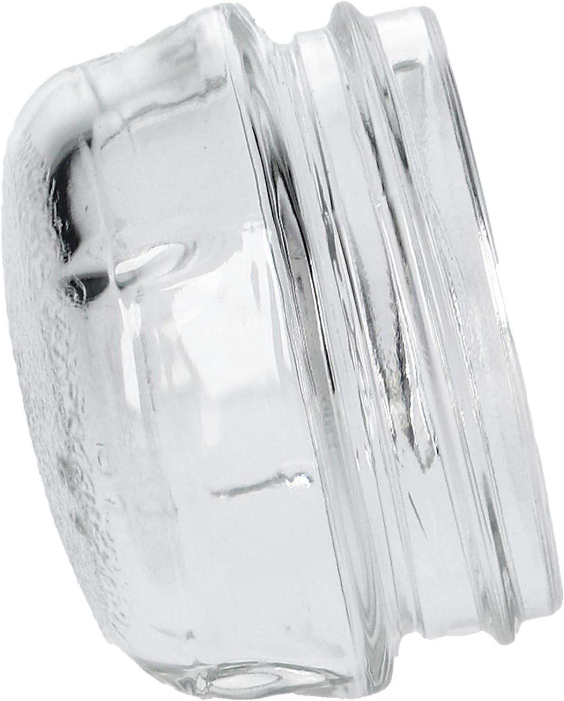 TOP Lampenabdeckung Kalotte Ø68mm Glas wie Bosch Siemens Neff 00647309 647309