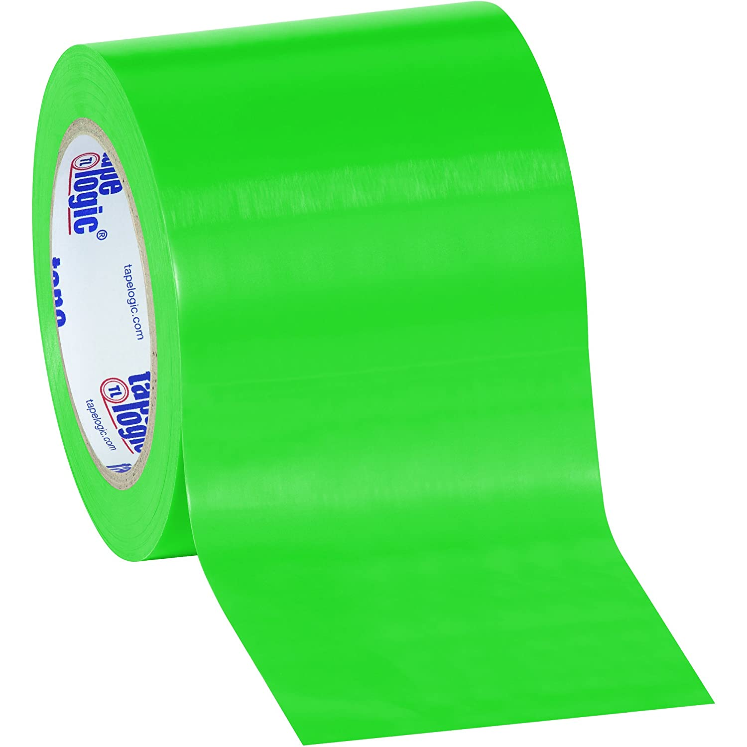 Aviditi T9136G Heavy Duty Solid Vinyl Safety Tape, 36 yds Length x 1 Width, 6 mil Thick, Green (Case of 48) by Aviditi B00DY9TR8A