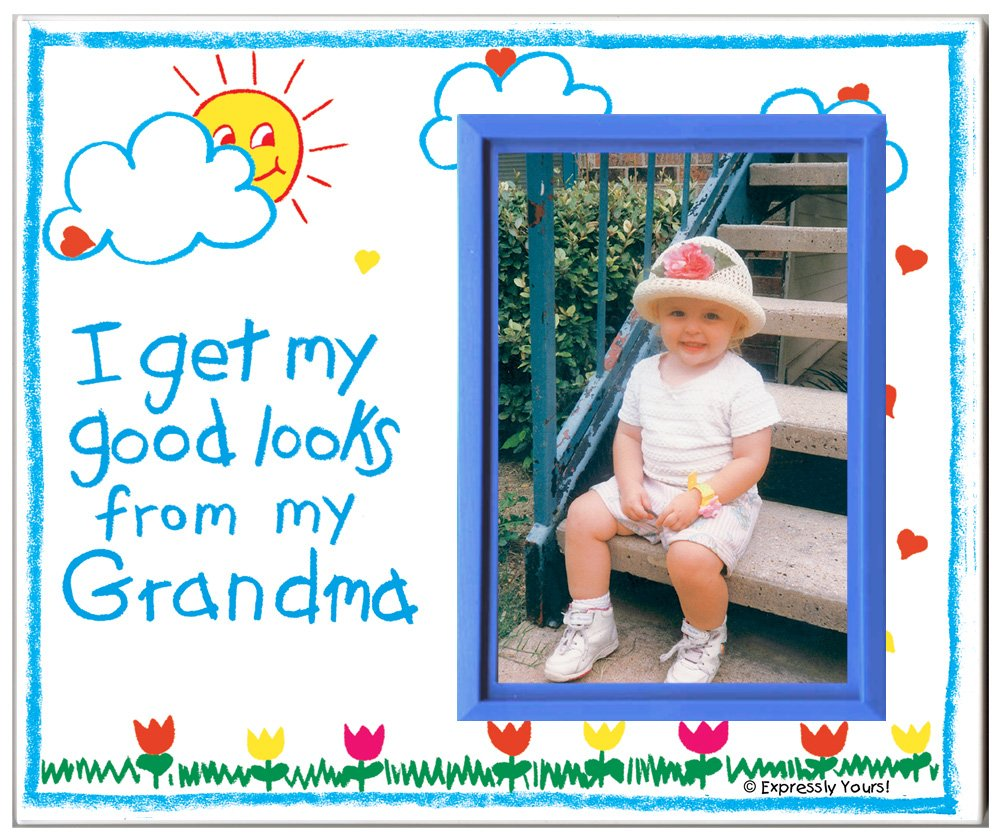 Amazon.com : Grandma Picture Frame   Affordable, Colorful and Fun ...