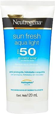 Protetor Solar Sun Fresh Aqua Light SPF50, Neutrogena, 120ml