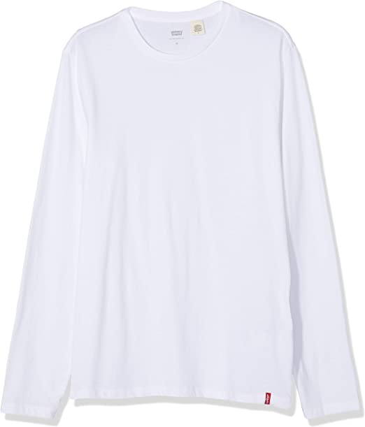 Levis LS Slim 2pk Crewneck Camiseta para Hombre: Amazon.es: Ropa y accesorios