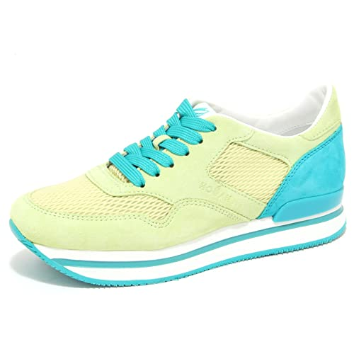 6417N sneaker HOGAN H222 shoes lime verde scarpe donna shoes H222 women 0f4a81