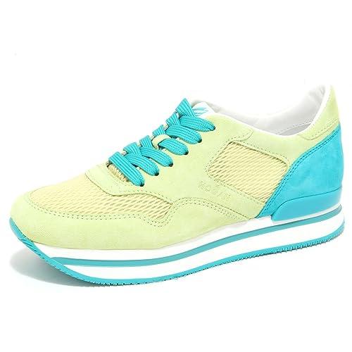 6417N sneaker HOGAN H222 lime verde scarpe donna shoes women