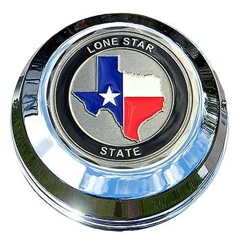 motordog69 indio Gas Cap moneda pantalla plana Set con Texas el Lone Star Estado para Chieftain