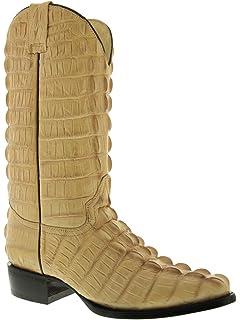 f133ddb78b0 Amazon.com | El Presidente - Men's Crocodile Belly Leather Cowboy ...