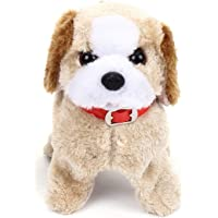 KidzBell Soft Toy Fantastic Puppy Battery Operated Back Flip Jumping Dog Jump Run Toy Kid