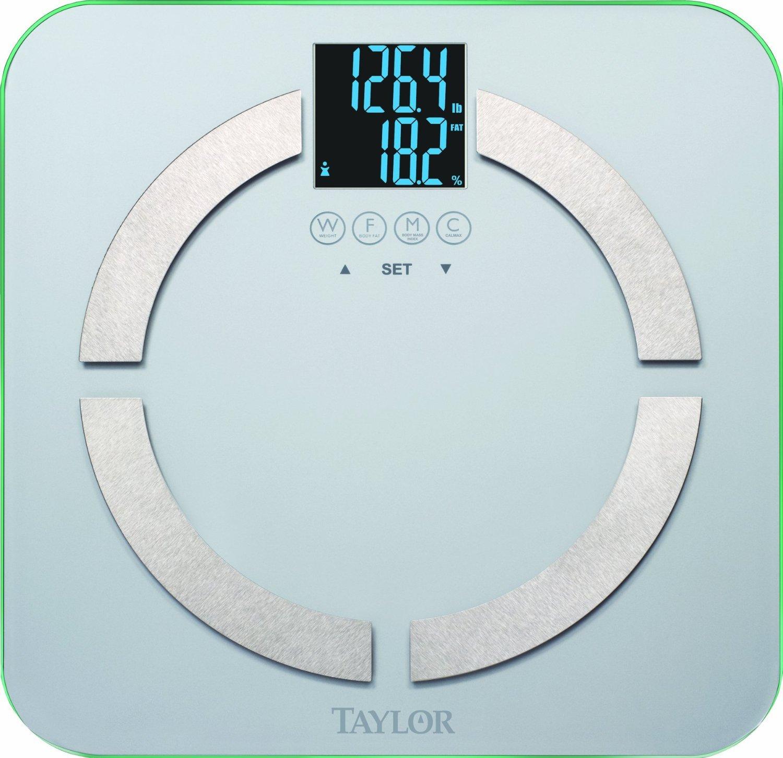 Amazon.com: Taylor 5751-Black Body Fat Analyzer & Scale: Health ...