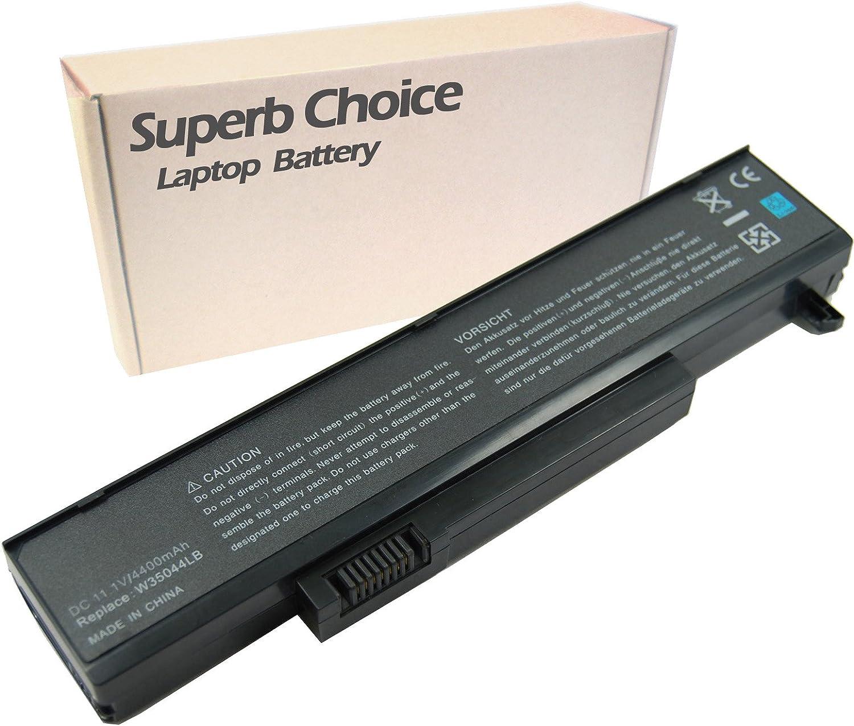 Superb Choice Battery Compatible with Gateway w350a w350i w6 w6501 w650i w650a