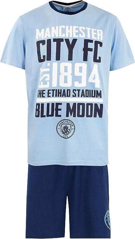 Pijama Largo del Manchester City Football Club para Hombre