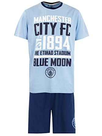 top-rated original unique design newest style of Manchester City FC Mens Football Pyjamas