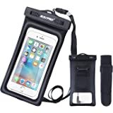 RISEPRO iPhone 7PLUS Armband, Neoprene Case Dry Bag Pouch for Jogging Outdoor Sports Climbing Running, for iPhone 7, 7S, 6, 6S 6plus, 5, 5s Samsung Galaxy Note 5 S5, Google Nexus 6P