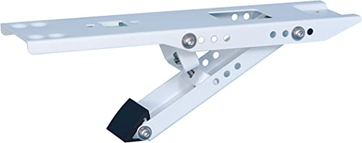 Up to 165 lbs Large My Home Products KT04L Universal Heavy Duty Window Air Conditioner AC Support Bracket Designed for 10,000 to 28,000 BTU Sized Units