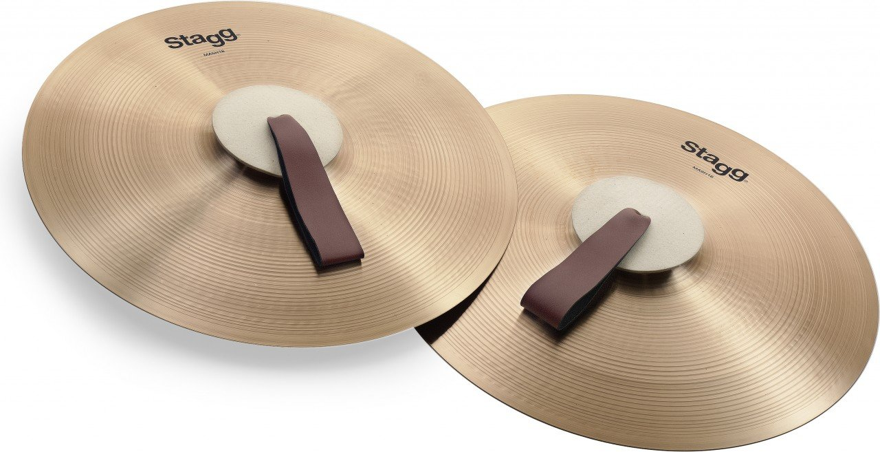 Stagg MASH18 Marching Cymbal by Stagg