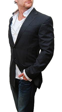 Ralph Lauren Black Label Mens Western Blazer Sport Coat Pinstripe ...