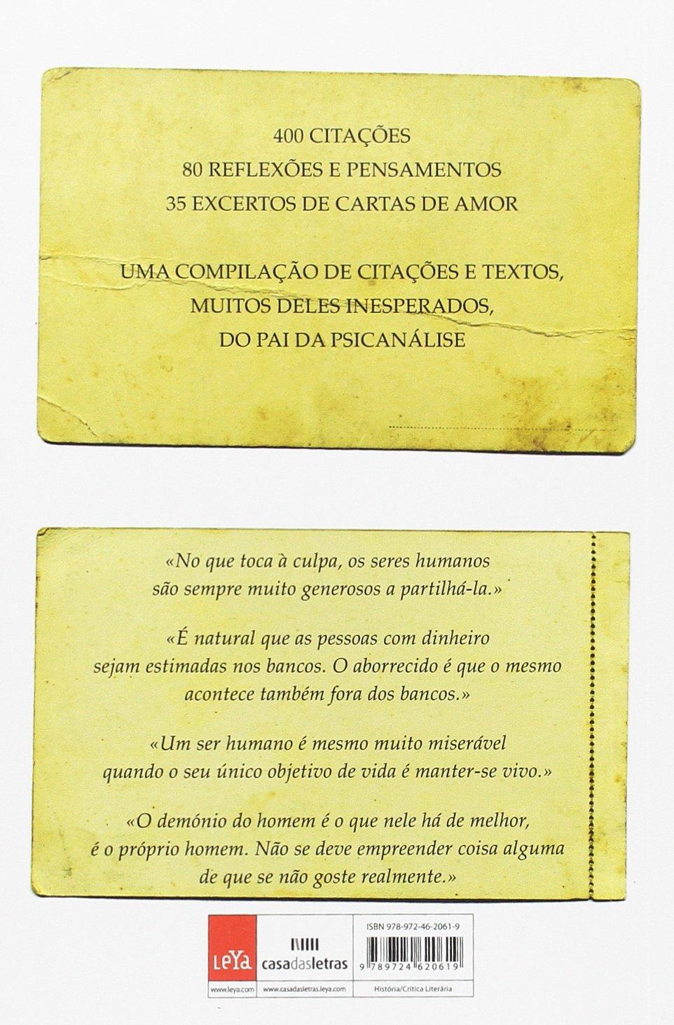 Citações e Pensamentos de Sigmund Freud (Portuguese Edition ...