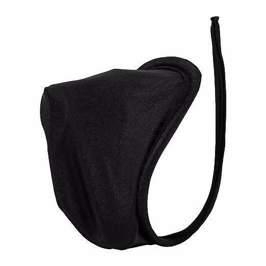 aad867488acb TiaoBug Men's Lingerie Bulge Pouch C-String T-Back Bikini Underwear Black  One Size