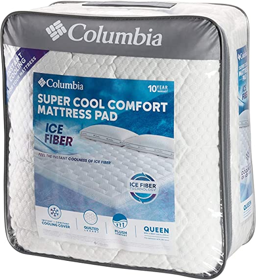 Amazon Com Columbia Sportswear Company Quilted Ice Fiber Cooling