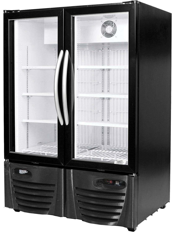 Com Minus Forty Technologies 15 Udgf X1 Double Glass Door Upright Freezer Merchandiser Industrial Scientific