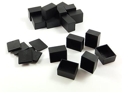 20 pcs Pack Abs cajas de plástico con tapa, 25 x 20 x 15 mm
