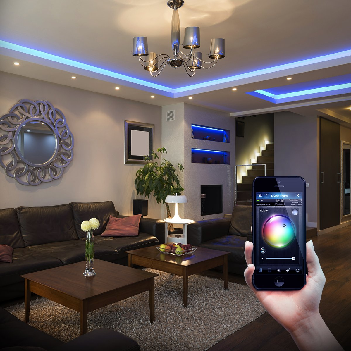 Fibaro Rgbw Micro Controller Z Wave Works With Rgb Led Circuitslightech Driversled Electronic Driverled Circuit Strips Home Improvement