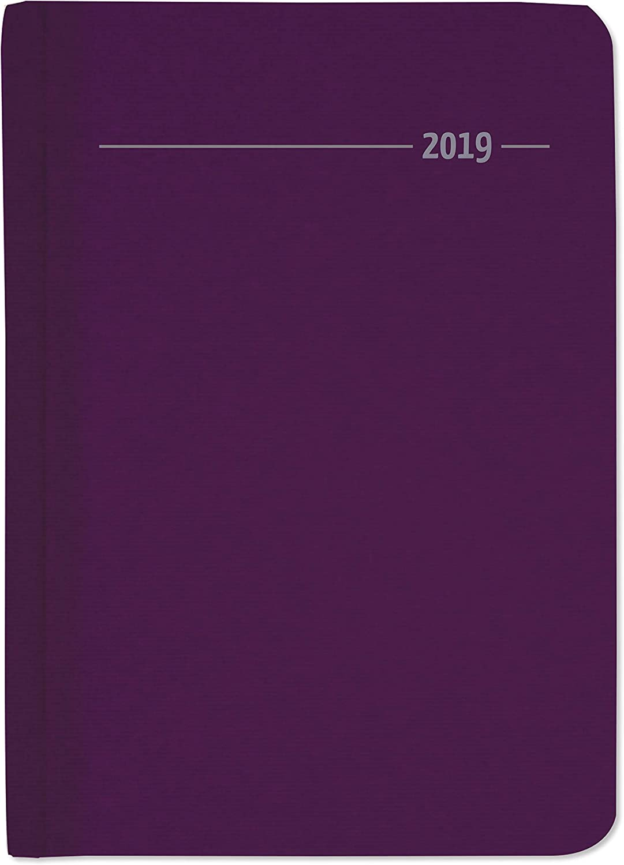 "Agenda Settimanale Silk Line 2019 ""Zaffiro"" 10,7X15,2 Cm"