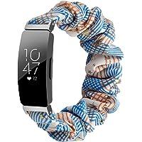 Chofit Bandje, compatibel met Fitbit Inspire 2/Inspire HR/Inspire bandjes, vervangende scrunchies armband, chiffon…