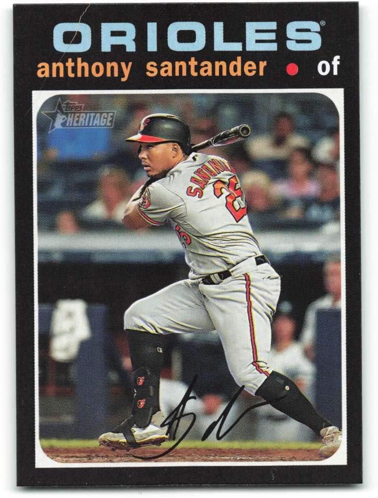 Amazon.com: 2020 Topps Heritage #393 Anthony Santander NM-MT ...