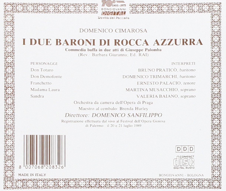 I Due Baroni Dl Rocca Azzurra