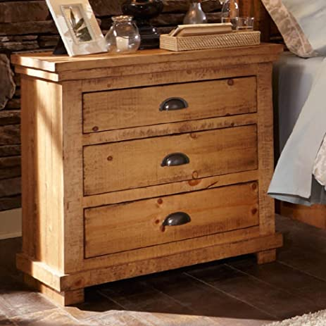 Progressive Furniture Willow, Distressed Pine, 32u0026quot; ...
