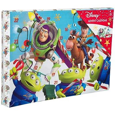 Disney Pixar. Toy Story Calendario de Adviento para Niños con Crayones Pegatinas Juguete Actividad Creativa Woody Buzz: Juguetes y juegos