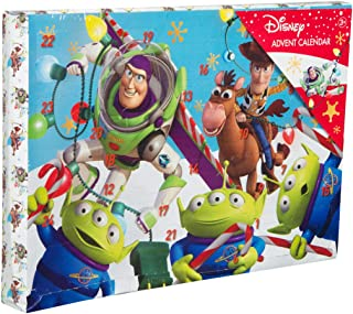 Disney Pixar. Toy Story Xmas Advent Calendar Calendars Kids Gift Box Stickers Colours Stamps and Games for Kids
