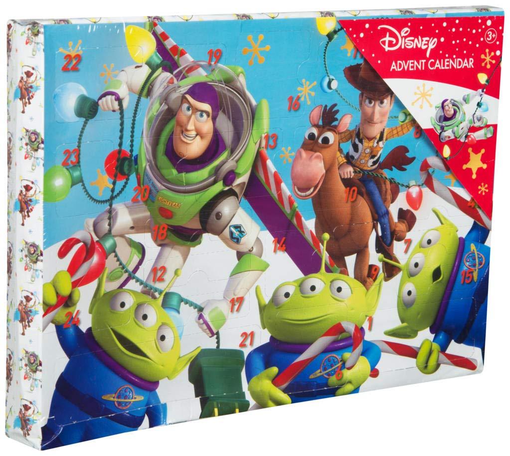 Toy Story Calendrier de l' Avent Disney pour Enfants Calendriers Noë l Jouet Enfant Autocollants Crayons Cachet Toupie Buzz l'É clair Woody Disney Pixar