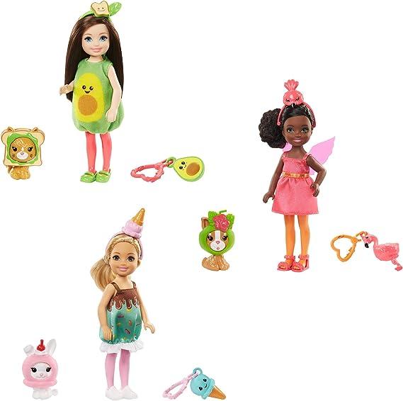 Amazon.es: Barbie Chelsea Disfraz de Aguacate, Muñeca con ...