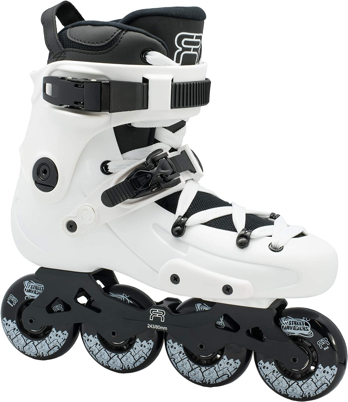 80 for FR1 White Brand Inline Skates FreerideSlalomCity FR SkatingPopular 2019 French Skates 354RqAjcL