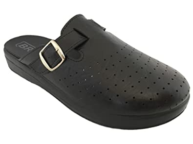 Bravo 103 Slip-on Herren Sandalen Mule Clogs Hausschuhe Schuhe